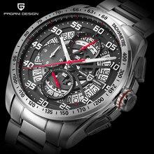 Original PAGANI DESIGN Top Luxury Brand Sports Chronograph Men's Watches Waterpr