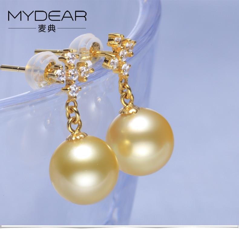 gold pearl earrings jewelry 11