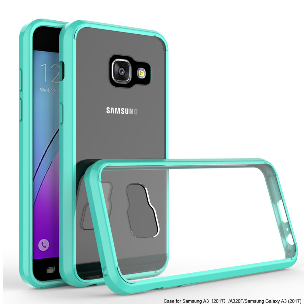 tpu hard back acrylic bumper case shockproof slim clear cover for samsung galaxy a3 a5 j3 emerge. Black Bedroom Furniture Sets. Home Design Ideas