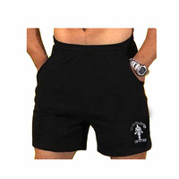 Mens Gyms Shorts With Pockets Bodybuilding Clothing Male Golds Athlete Fitness Bermuda Weight Lifting Workout Cotton