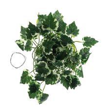 Ящик для рептилий ящерицы Террариум искусственная лоза украшение Ящерица Поддельные растения зеленые листья