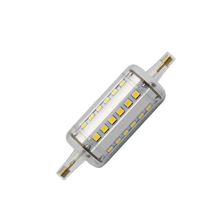 Regulable R7S led luz 118mm 10w 78mm 5w LED R7S luz J78 J118 RX7S lámpara led halógena de reemplazo AC85-265V