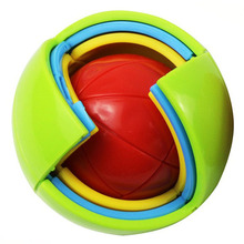 3D puzzle ball fun puzzle ball labyrinth toy puzzle ball children assembled toy intelligence labyrinth for baby gifts цены