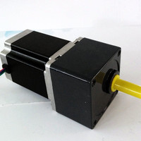 2 phase NEMA23 57mm Gearbox Stepper Motor 57HS56 2804SG15 Gearbox Reduction Ratio 15:1