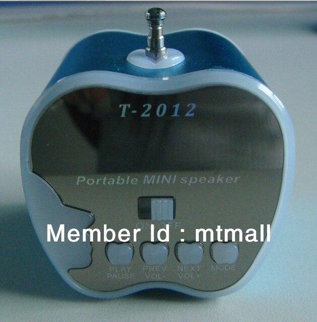 Free shipping The Latest  Mini  Speaker   TF/USB(maximum 32G)  Radio FM