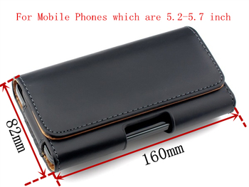 Genuine Leather Case For Xiaomi Redmi Note 7 8 Pro Belt Clip Holster For 5.2