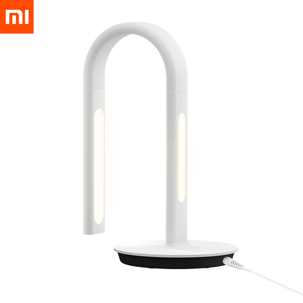 Original Xiaomi Mijia Remote Control Smart DeskLamp LED Light Table Lamp DeskLamp Table Lamp Desklight Support Phone App xiaomi mijia air conditioning remote controller socket smart gateway app control
