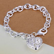 H269 925 jewelry silver plated bracelet, 925-sterling-silver fashion jewelry Solid thick bracelet /aqgajhna bnvakfca