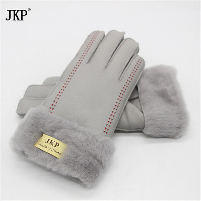 Women's Gloves Real Leather...