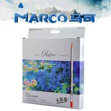Marco 24 36 48 72 Cores Pintura Lápis Raffine Arte Crayon lápis coloridos Lapis Lapis de cor Profissional Profissional