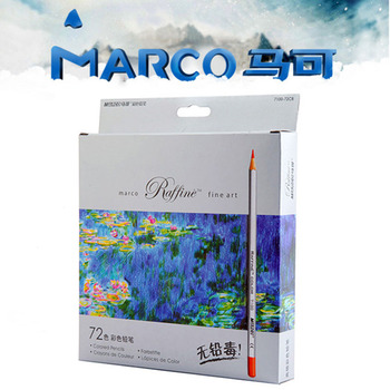 Marco 24 36 48 72 Colors Painting Pencil Raffine Fine Art Lapis de cor Profissional colored pencils Lapis Professional Crayon