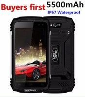 Land Rover X2 IP67 Водонепроницаемый пылезащитный смартфон 1280*720 5,0 mtk6737 четыре ядра Оперативная память 2 ГБ Встроенная память 16 ГБ 5500 мАч 4G 8MP мобиль
