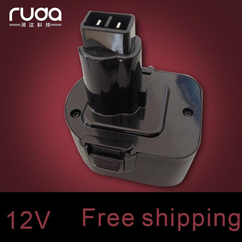 for Black&Decker 12VA 1500mAh/1.5Ah power tool battery ,A9252,A-9252,A9275,A-9275,PS130,PS130A,A9266