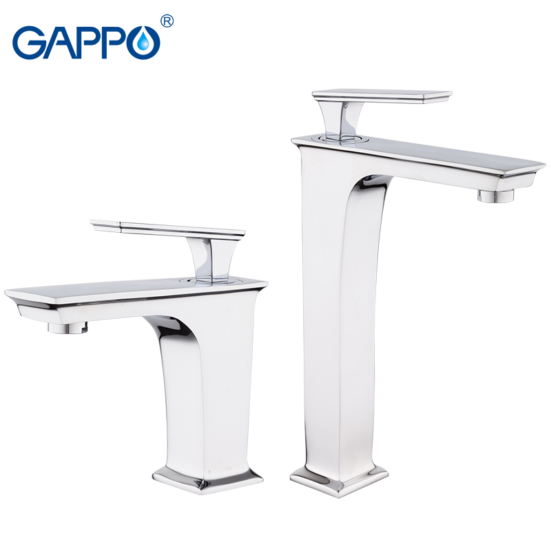 GAPPO Basin Faucet chrome bathroom Basin sink faucets mixer taps waterfall faucets mixer taps bath water