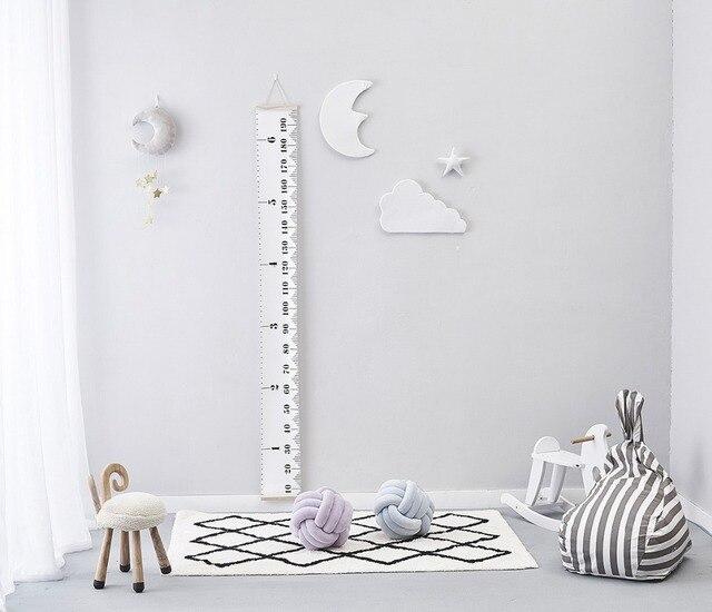 Nordic Baby Room Handmade Nursery Star/Moon/Cloud Wall Decorations Kids  Room Decor Photography