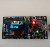 Tàu miễn phí Bluetooth ban phát triển giao phối lạnh ánh sáng màu vàng xanh đôi màu OLED hiển thị module 0.96 '' 128*64 dot matrix