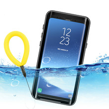 Waterproof Case for Samsung Galaxy S9 Shockproof Dirtproof Full Sealed Case Cover for Samsung S9 Outdoor Underwater Case стоимость