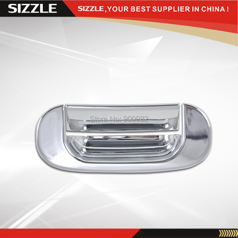 Tail Gate Handle Cover No Keyhole For Dodge Ram 1500 2500 3500 HD 1994-2001 ABS Plastic Chrome Plating Truck Tailgate Parts
