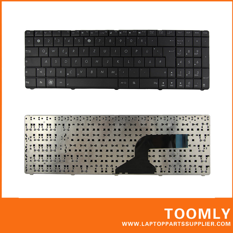Hot Sell Free Shipping New Laptop Keyboard for ASUS A53 N53 in German Layout Black Computer Peripherals Desktop Tablet