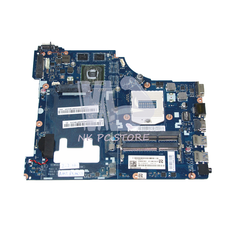 NOKOTION Laptop Motherboard For Lenovo G510 MAIN BOARD LA-9641P VIWGQ HM86 DDR3L Radeon R5 M230 Graphics