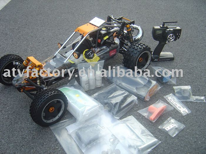 29CC Baja. metal head+metal roll cage+nice pipe !!! metal quick release roll cage