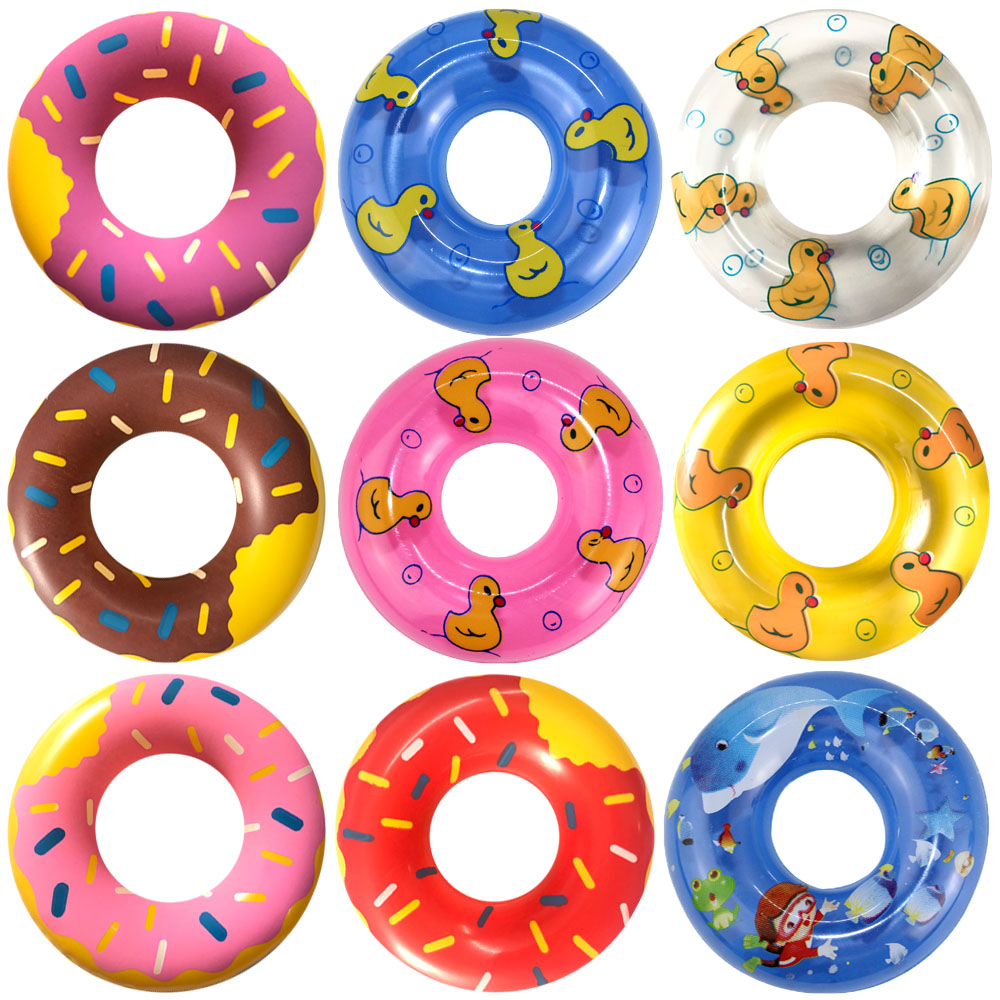 NK 5 Pcs /Set Colourful Toys Doll Swimming Buoy Lifebelt Ring For Barbie Doll Accessories DIY Gift Baby Toys Best Gift JJ image