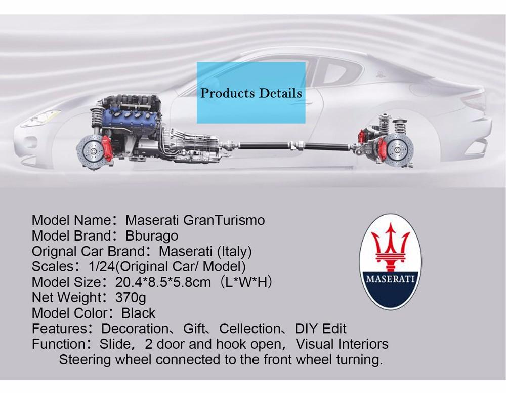 Maserati-Gran-Turism-Diecasts-Model-12