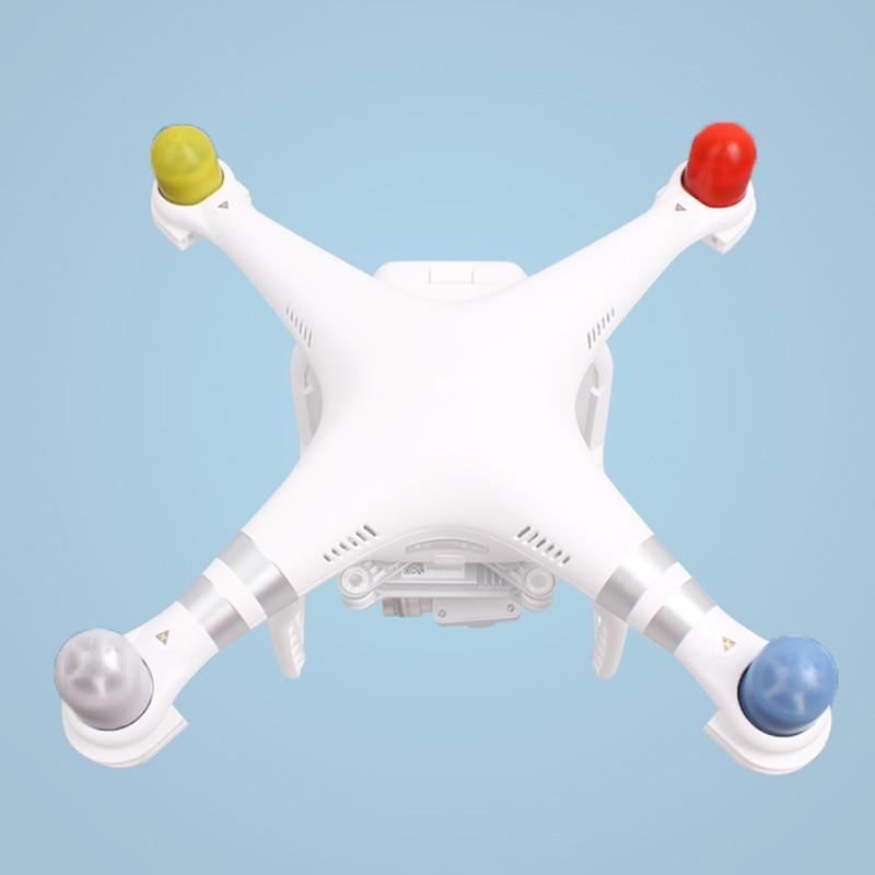 4 Pieces Protective Drone Motor Cap Cover For DJI Phantom 4/4 Pro (plus)/Phantom 3 2 Quadcopter Motor Case Guard