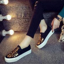 New Good quality 2019 classic Women Casual shoes Platforms Women Shoes Breathable Sapatos Femininos Slip on Male Sneaker women s platform shoes new spring casual woman weave shoes breathable girls handmade sapatos femininos loafers ladies shoes fx3