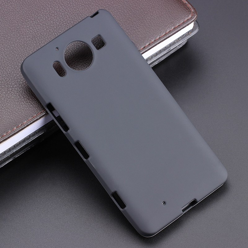 Black Gel TPU Slim Soft Anti Skiding Case Back Cover For s