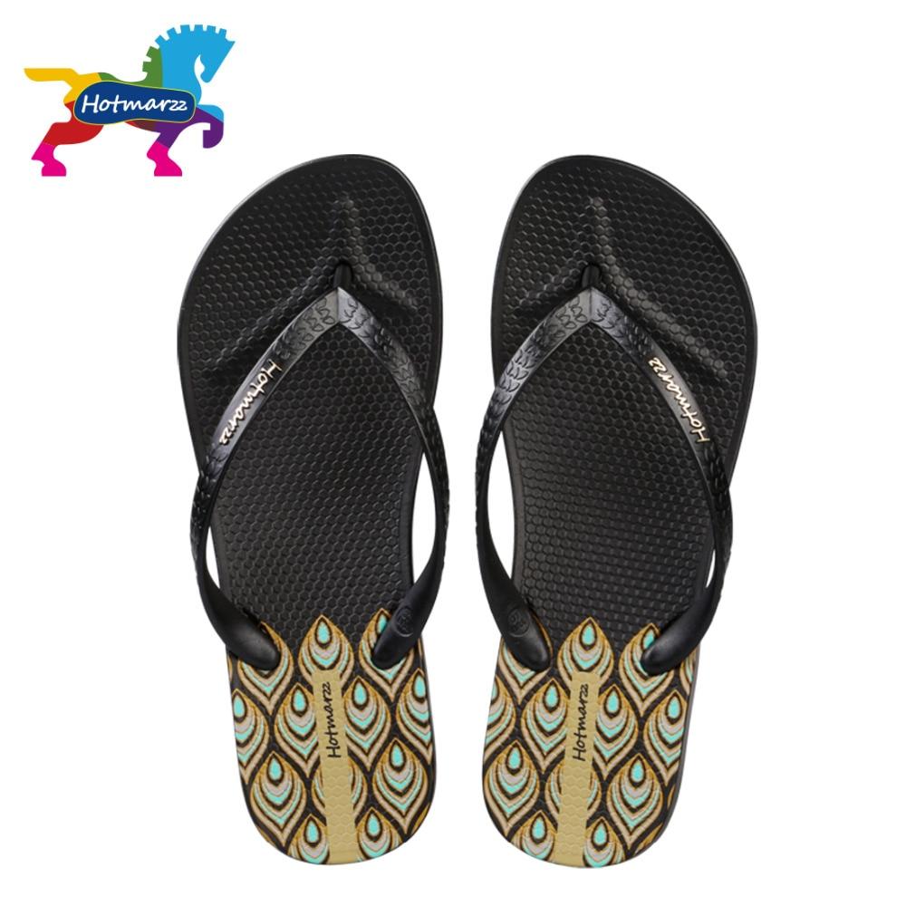 Hotmarzz Mujer Plataforma de tacón alto Chancletas Cuñas Zapatillas - Zapatos de mujer - foto 5