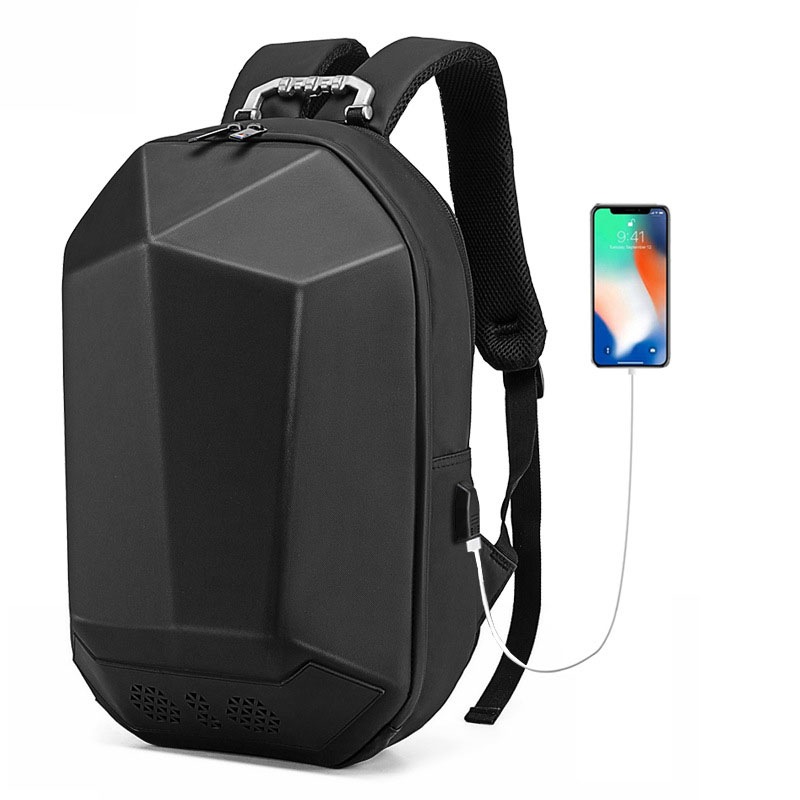 High Quality Men Backpack External USB Charging Waterproof Backpack Fashion Travel Bag Casual School Backpack For