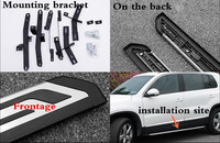JIOYNG For Vw Volkswagen Tiguan L 2017 2018 Car Running Boards Auto Side Step Bar Pedals Brand New Nerf Bars