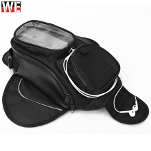 Magnetic Motorcycle Tank Bags For GIVI Phone GPS Navigation oil Bag Fixed Straps Shoulder Tail With Rain Cover