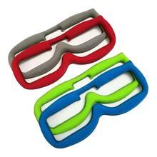 FPV очки Лицевая панель ткань Губка текстильная застежка для URUAV Fatshark FPV очки FPV RC Drone Запчасти Аксессуары
