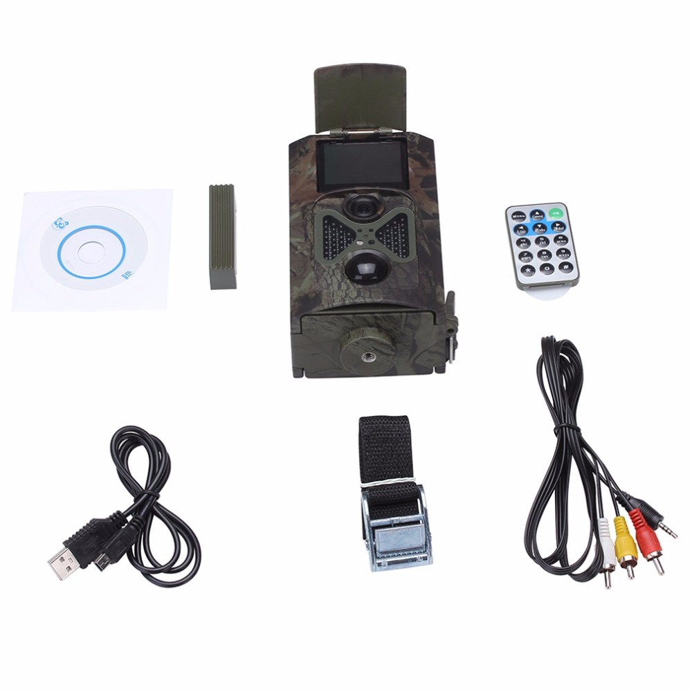 ФОТО 1080P Night Vision Wide View Wild 12mp Hunting HD Digital Sports Camera HC100 Hot Sale Top Quality
