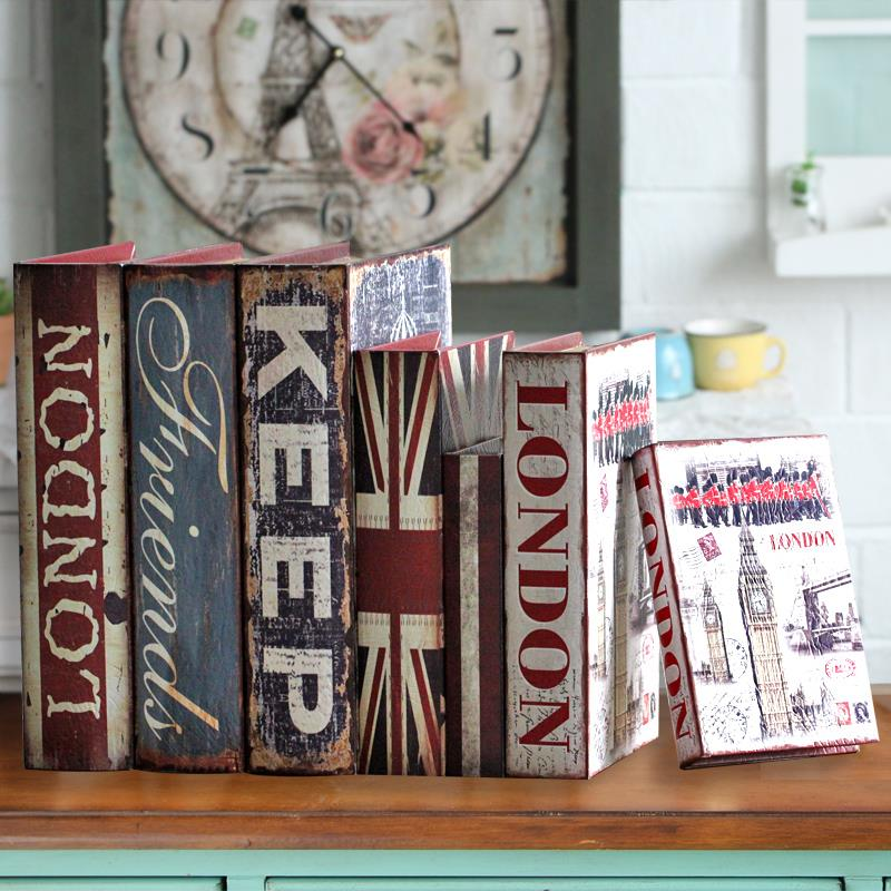 Continental Retro Fake Book Bookcase Decor Decoration Simulation Rhaliexpress: Home Decor Fake Books At Home Improvement Advice
