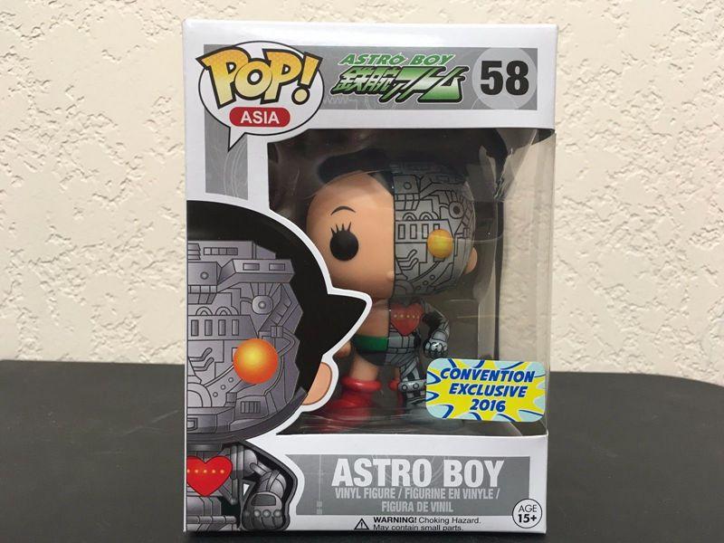Exclusif Nouveau Funko pop Officielles Asie Appât 2016 SDCC S2 Astro Boy Disséqué Vinyle Figure Collection Modèle Jouet avec Original boîte