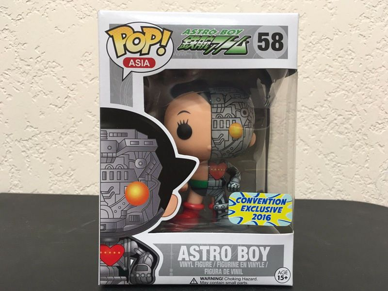 Exclusive New Funko pop Official Asia Bait 2016 SDCC S2 Astro Boy Dissected Vinyl Figure Collectible Model Toy with Original Box стоимость