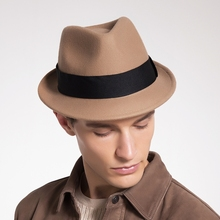 Sedancasesa fedora hat s с австралийской шерстью фетровая шляпа унисекс модная Трилби с коротким козырьком Классическая Кепка для мужчин и женщин Шляпа fedora