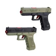 2pcs Plastic Soft Water Bullets Toys Gun Safe Orbeez Gun Weapon Pistol Gunshot Outdoor Game Toy For Children Kid Boys Gift