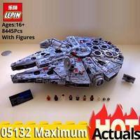 LEPIN Star Plan Series 05132 Ultimate Collector's Millennium Falcon Set Building Blocks star wars 75192 Christmas gift boys toys