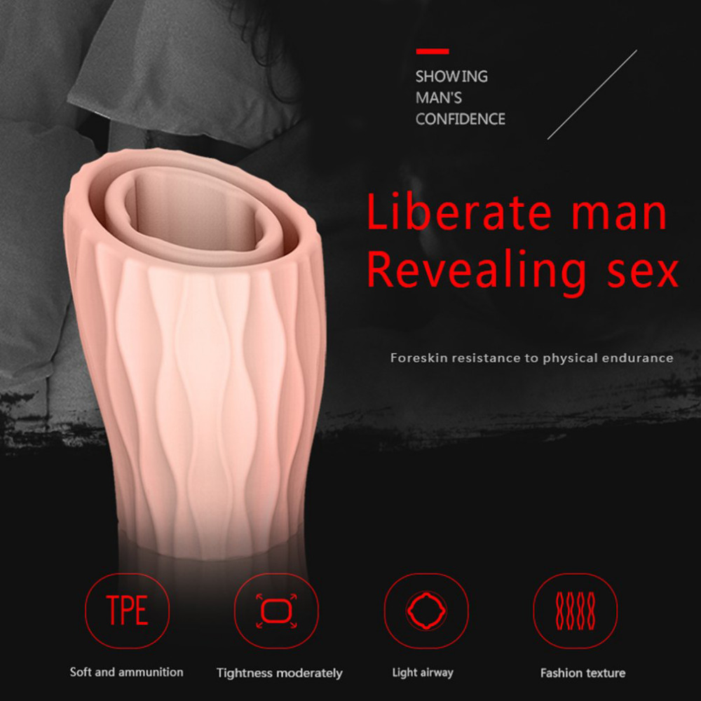 DMM Penis Foreskin Resistance Ring Complex Corrector Day & Night Reusable Penis Sleeve Condom Cock Delay Ring Sex Toys For Men