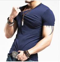 Men's T Shirt Men Fashion Tshirts Fitness Casual For Male T shirt S 5XL Free Shipping