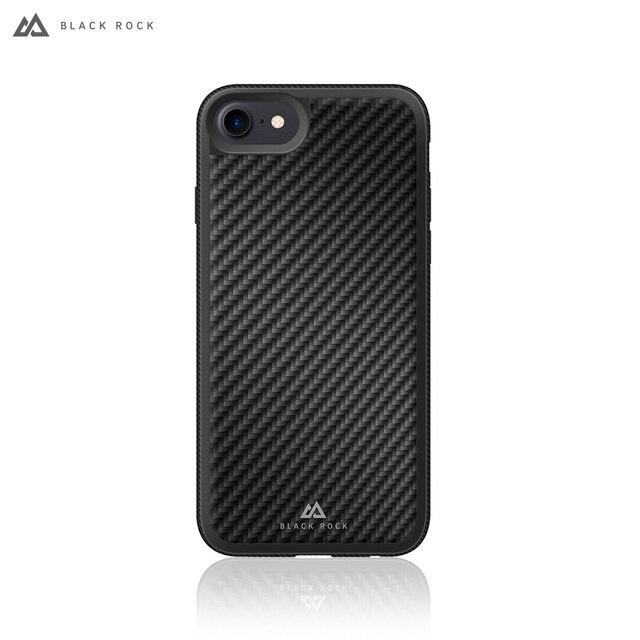Чехол-накладка Black Rock Material Case Real Carbon для iPhone 8/7/6/6Ss цвет черный