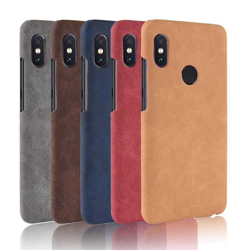 78e87c5dcd2 For Xiaomi Redmi Y2 Case Redmi Y2 Case 5.99 Hard Back Cover PU ...