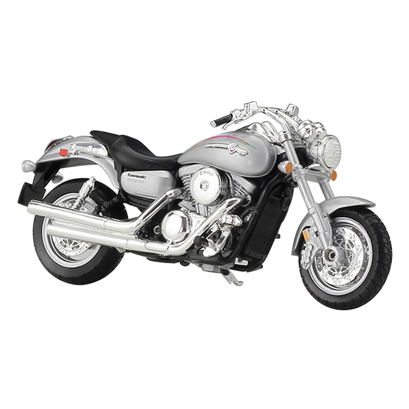 W Model Of Alloy Motorcycle 1:18 2002 VULCAN 1500 MEAN STREAK Toys Hobby Collection Gift ...