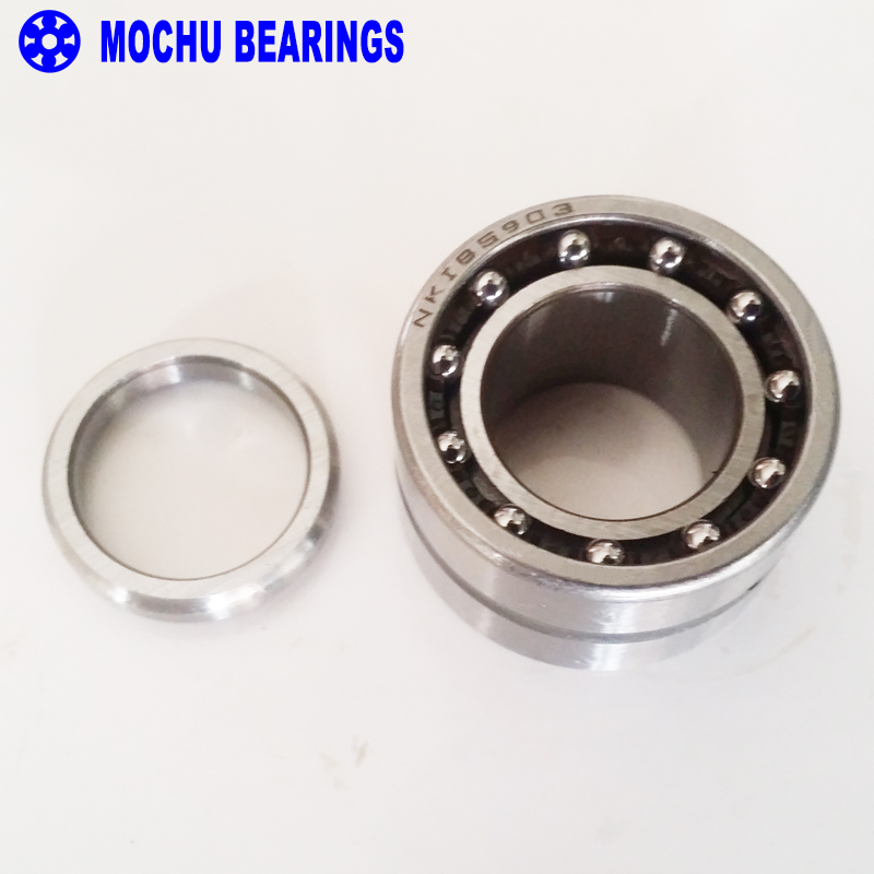 1piece NKIB5904 NKIB5904-XL 20X37X25X23 MOCHU Combined Needle Roller Bearings Needle Roller  Angular Contact Ball Bearings 1pcs 71901 71901cd p4 7901 12x24x6 mochu thin walled miniature angular contact bearings speed spindle bearings cnc abec 7