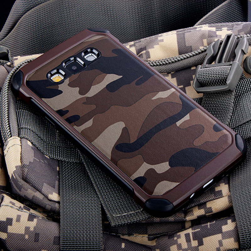 Army Camo Camouflage Pattern back cover TPU Armor Anti-knock case For Samsung Galaxy A5  ...