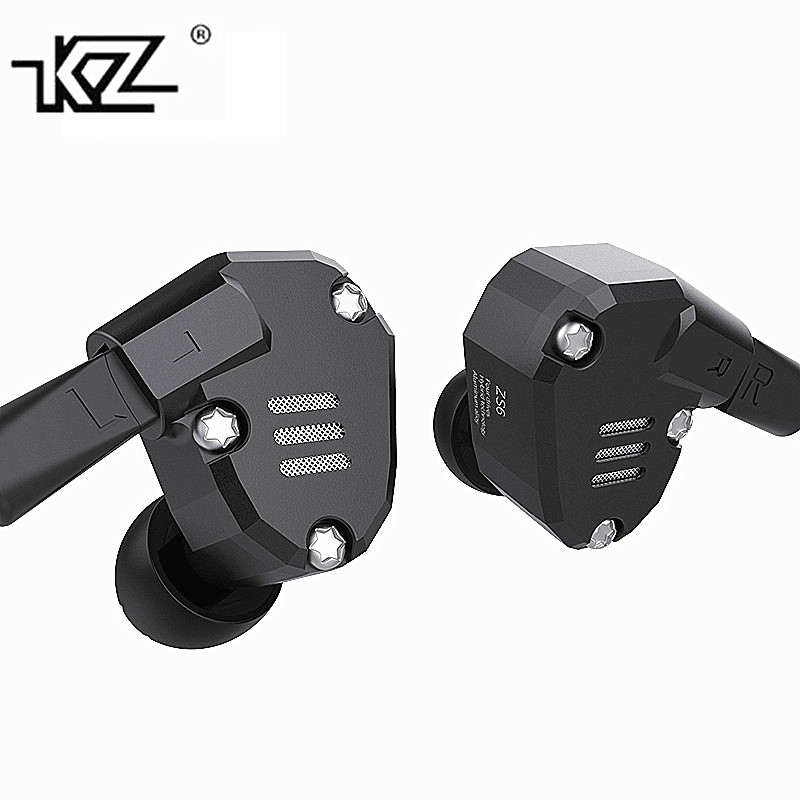 100% New Design 2DD+2BA KZ ZS6 Earphone HIFI DJ Monito Running Isolating Stereo Headset with Mic for Iphone Mobile Phone Earpod мультиварка steba steba dd 2 xl eco